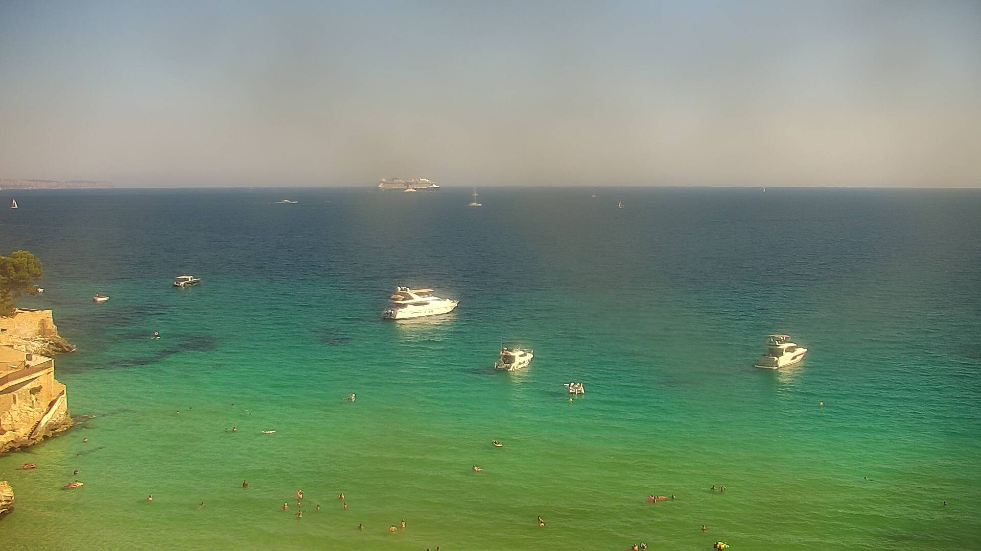 Webcam Palma - playa de Cala Major - Nixe